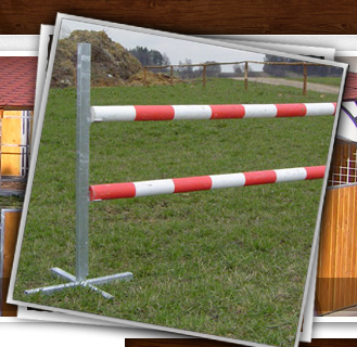 Show-jumping obstacles